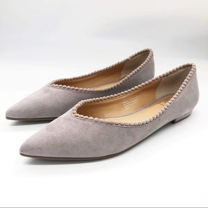 Taupe Ladies Flats